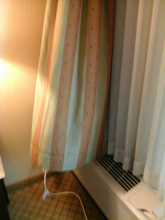 Holiday Inn Orangeburg - Rockland / Bergen: curtain that captures the air