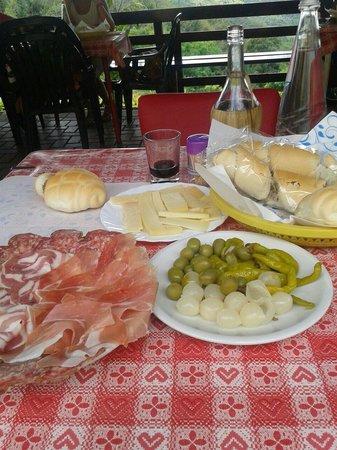 Cinto Euganeo, Italia: Piatto misto