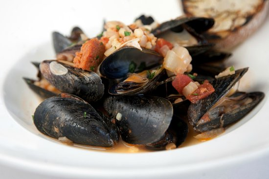 Cafe Esin: Mussels