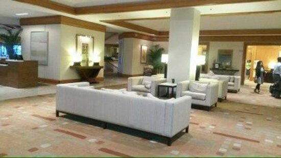 Westin Tampa Harbour Island: Lobby