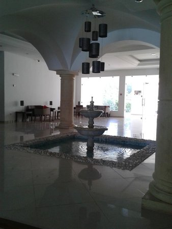 Hotel Menara: le hall de réception
