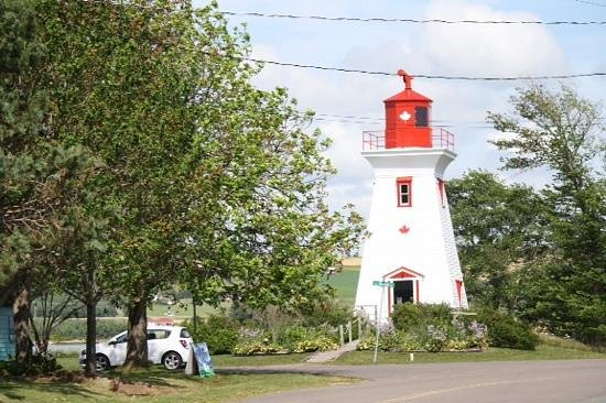 The Gables of PEI Resort: Victoria lighthouse