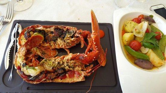 La Maison Du Vin Kurkoff : Fresh tasty lobster, it was incredible