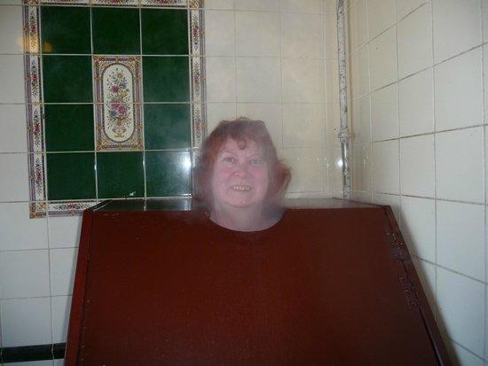 Kilcullen's Seaweed Baths: The steam box