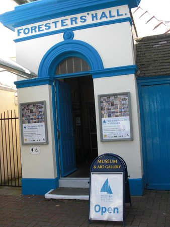 Whitstable Museum and Gallery: Museum Entrance