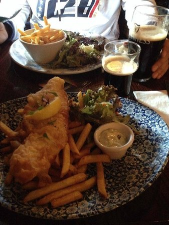 The Old Storehouse Bar & Restaurant : Great food!