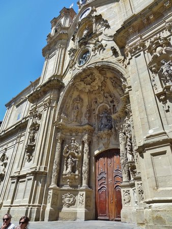 Parte Vieja : La cathédrale