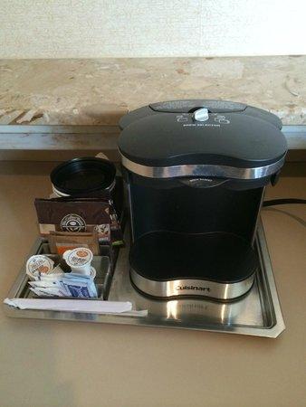 Hilton Chicago: café e chá