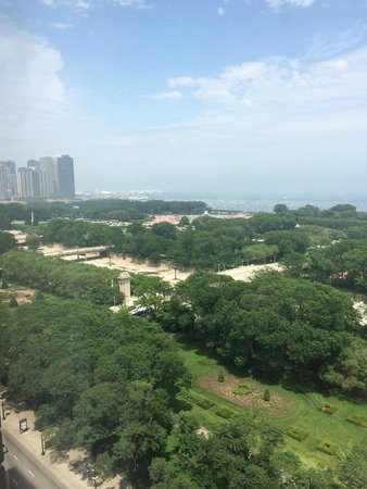 Hilton Chicago: vista do quarto
