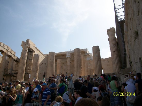 Acropole : As in days of old...