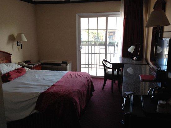 Ramada Pasadena: Chambre