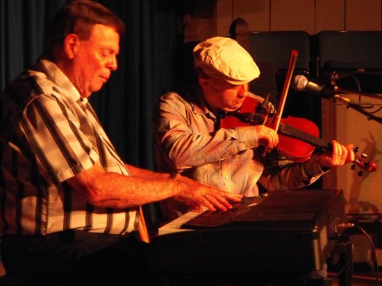 Louisbourg Playhouse: Dougie MacPhee, piano, and Dwayne Cote, fiddle