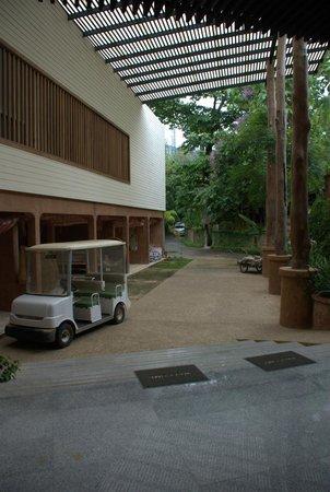 K.B. Resort: entrée hotel