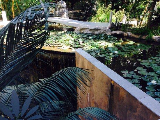 Atrium Palace Thalasso Spa Resort & Villas: Giardino interno