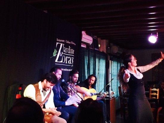 Jardines de Zoraya: Intense high quality flamenco show