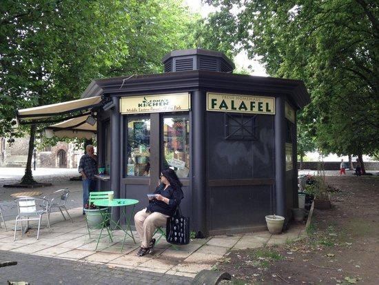 ednas-kitchen: The kiosk