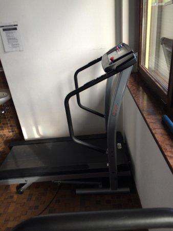 Hotel Gasthof Park: Gym?