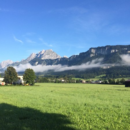Hotel Park : Cycling in St Johann, the hotel's neighbourhood