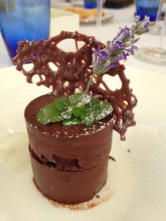 Ristorante La Parolina: Chocolate and mint