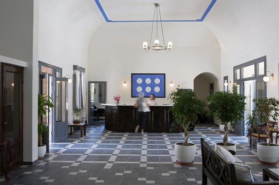 Rose Bay Hotel : Reception lobby