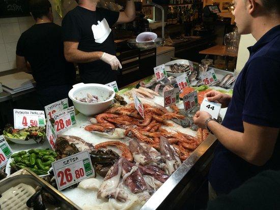 La Parada del Mar: Banco pescheria