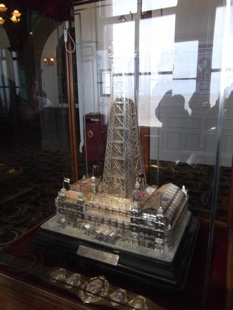 The Blackpool Tower: Blackpool Tower in silver