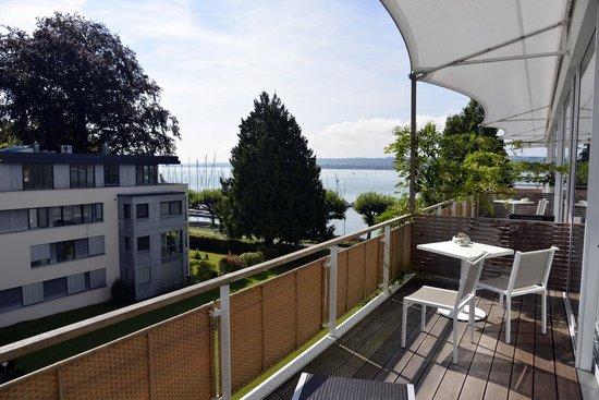 RIVA - Das Hotel am Bodensee: vue de la chambre