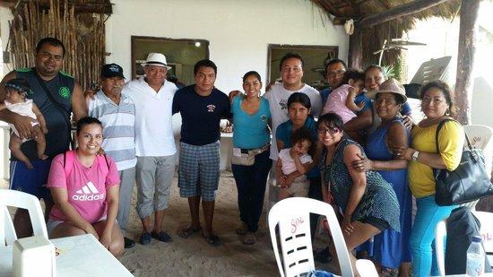 Nohoch Kay Beach Club: con uno de los dueños de restaurante