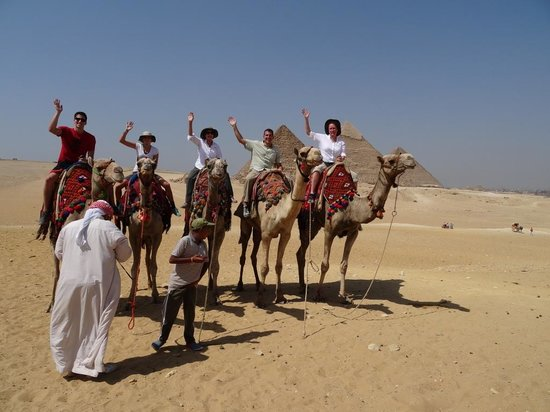 Cairo-Overnight Tours: Camel Ride at Giza