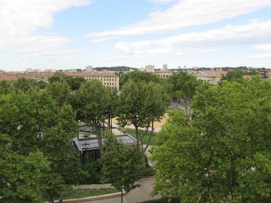 Novotel Atria Nimes Centre : Vista desde la hab. 620