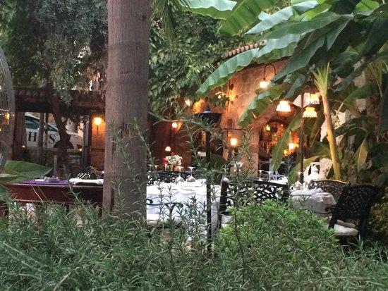 Seraser Fine Dining Restaurant : Magnifique cadre