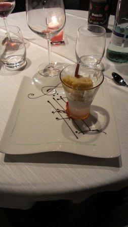Hotel Compagnoni: A little sorbet......