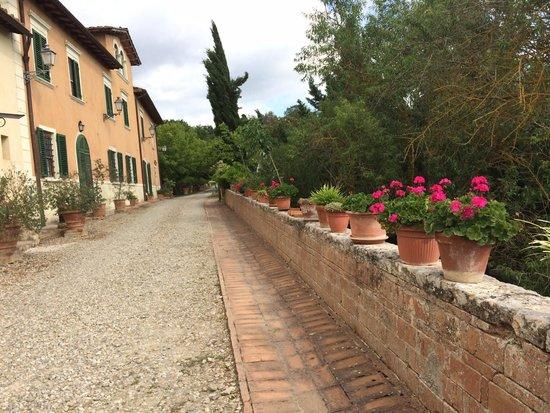 Tenuta Il Tresto: Voor het landhuis met de appartementen.