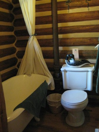 Storm Mountain Lodge & Cabins : Bathroom