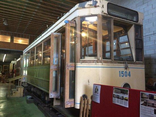 Trolley Museum Of New York : Hamburg trolley