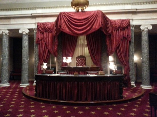 U.S. Capitol : The old Senate