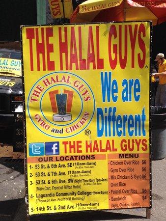 The Halal Guys: Great tasting food!