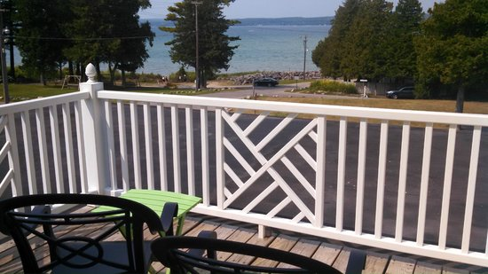Stafford's Bay View Inn: Room 1 - View from balcony
