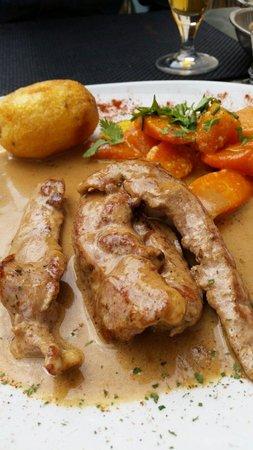 Chez David : Aiguillettes de canard sauce madère