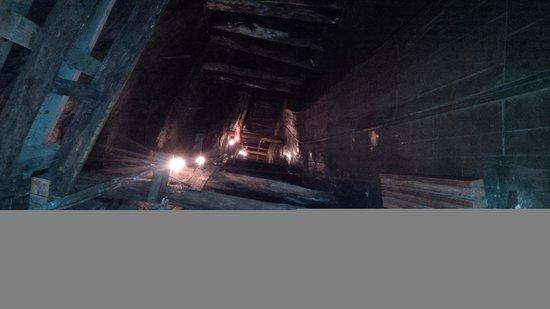 Lackawanna County Coal Mine: 300 ft below the surface