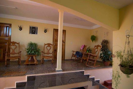 Villa Jorge y Ana Luisa: Outside room