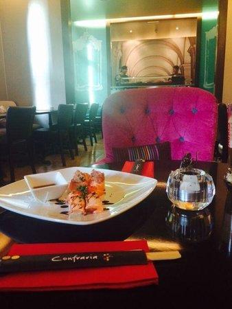 LX Boutique Hotel: Degustacion de Sushi