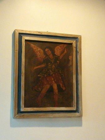 Palacio de Marquesa: Artwork in dining area
