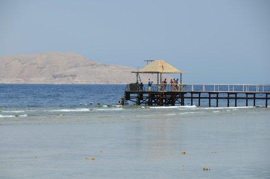 Sharm Grand Plaza : Grand Plaza Beach Jetty