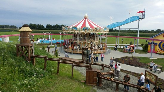 Zator, Pologne : Children area