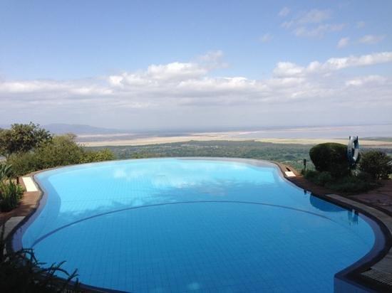 Lake Manyara Serena Lodge: as advertised!! spectacular view of Lake Manyara