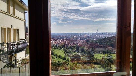 Questenberk: View from breakfast