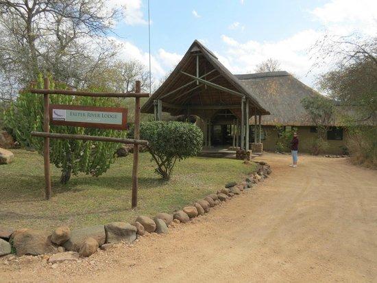 Dulini River Lodge : Entrance