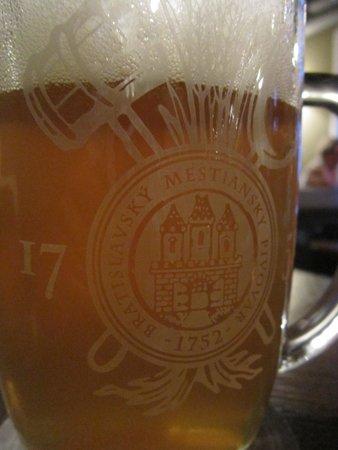 Bratislavsky Mestiansky pivovar: Cerveza