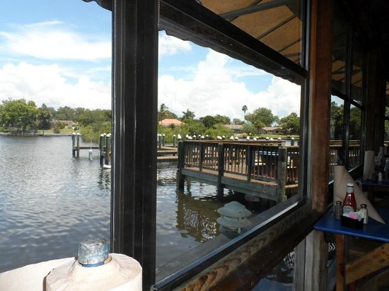 Phillippi Creek Village Restaurant & Oyster Bar: View over lake